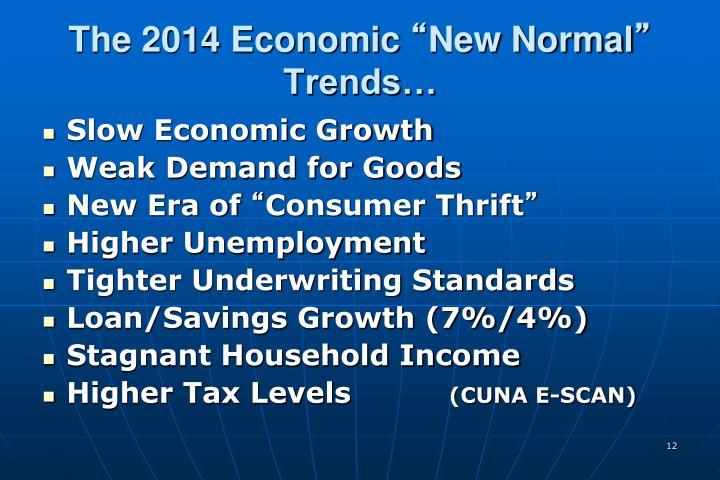 The 2014 Economic