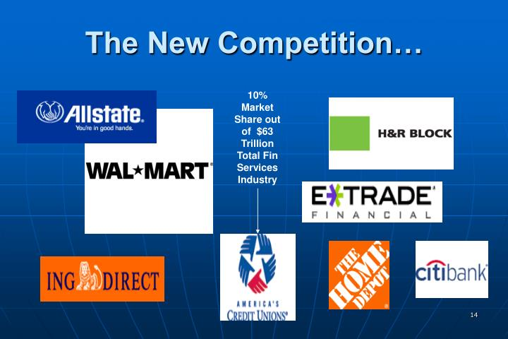 The New Competition…