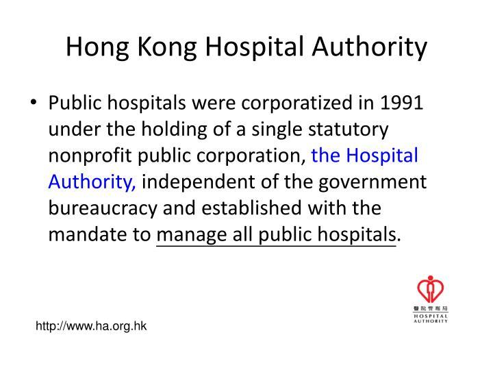 Hong Kong Hospital Authority