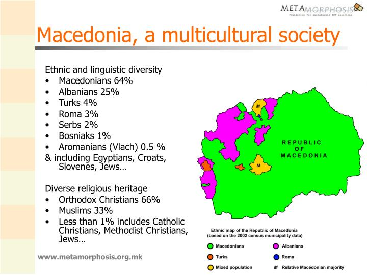 Macedonia a multicultural society