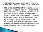 guided planning protocol10