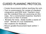 guided planning protocol15