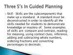 three s s in guided planning2