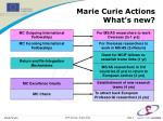 marie curie actions what s new1