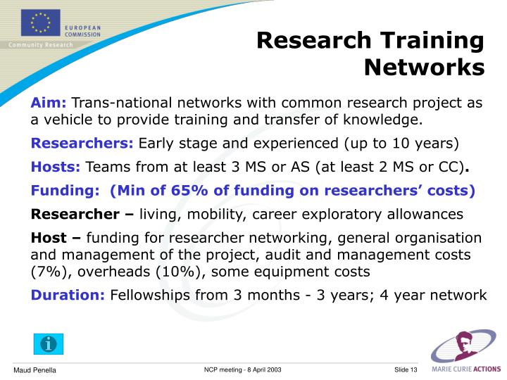 Research Training Networks