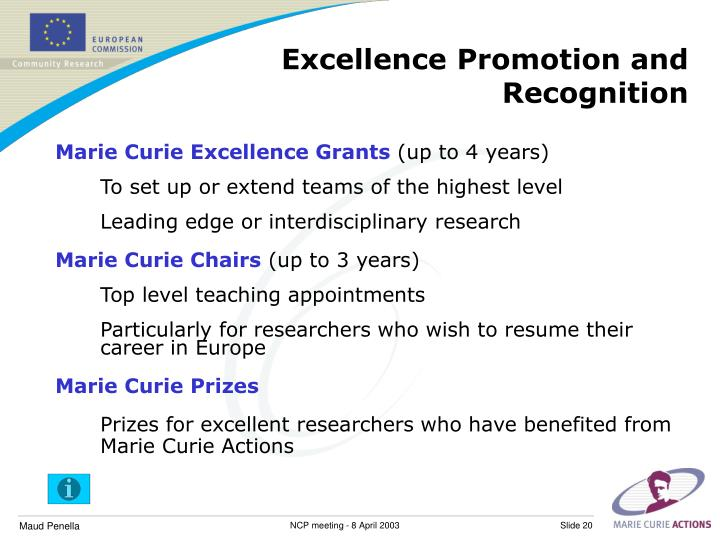 Excellence Promotion and Recognition