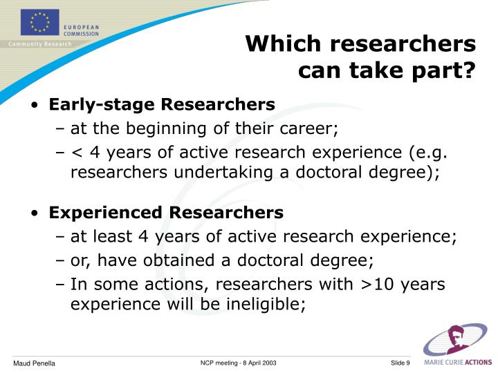 Which researchers