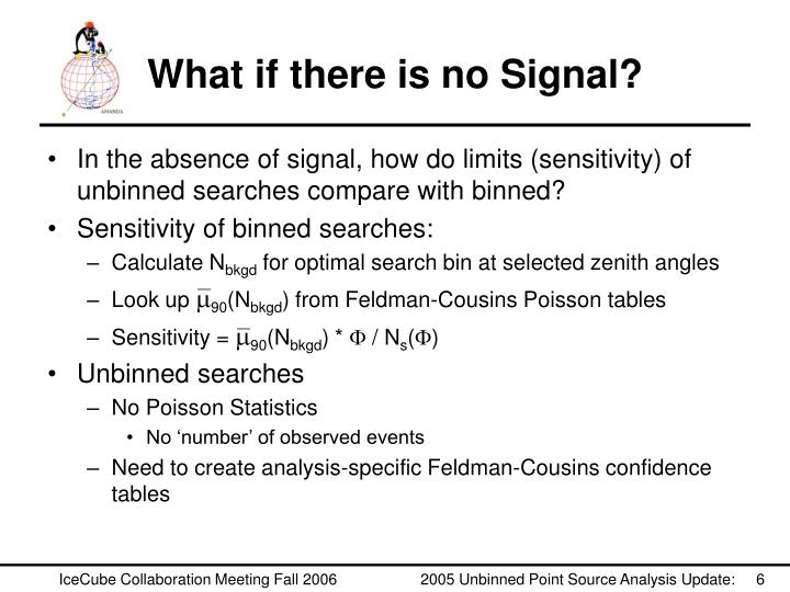 What if there is no Signal?