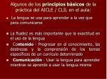 algunos de los principios b sicos de la pr ctica del aicle clil en el aula