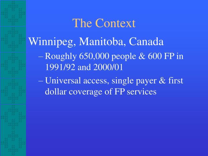 Winnipeg, Manitoba, Canada