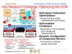 key research challenge optimizing the ccm