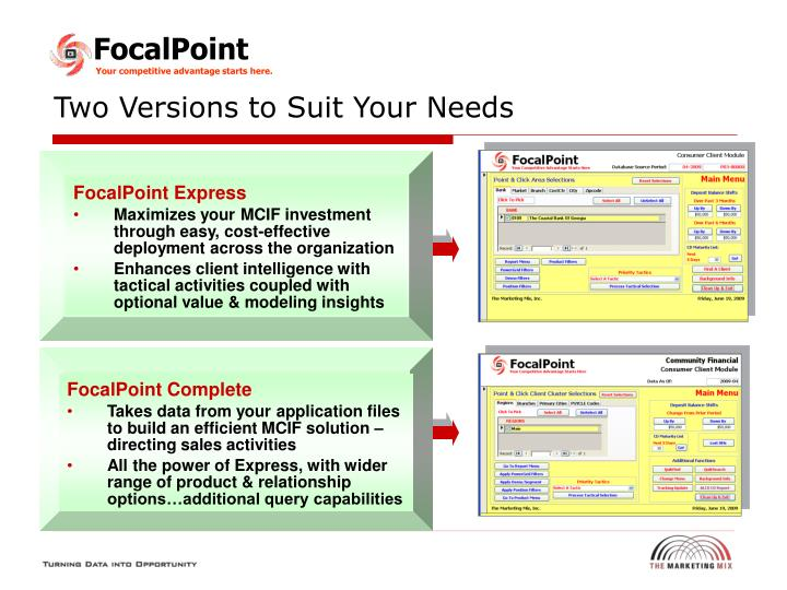 FocalPoint Express