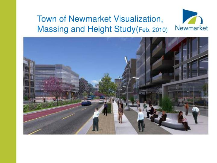 Town of Newmarket Visualization,