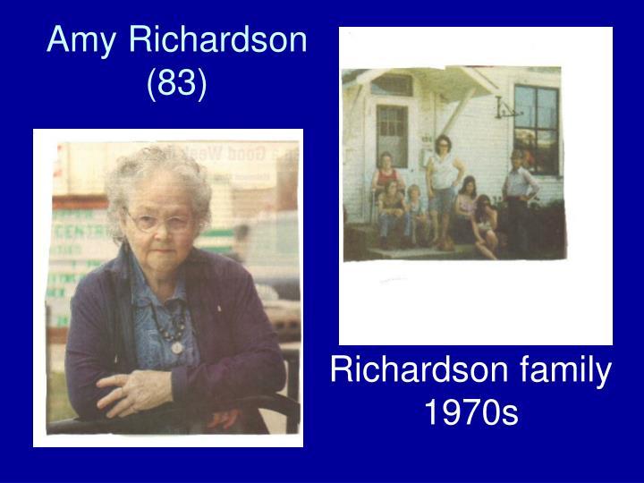 Amy Richardson (83)