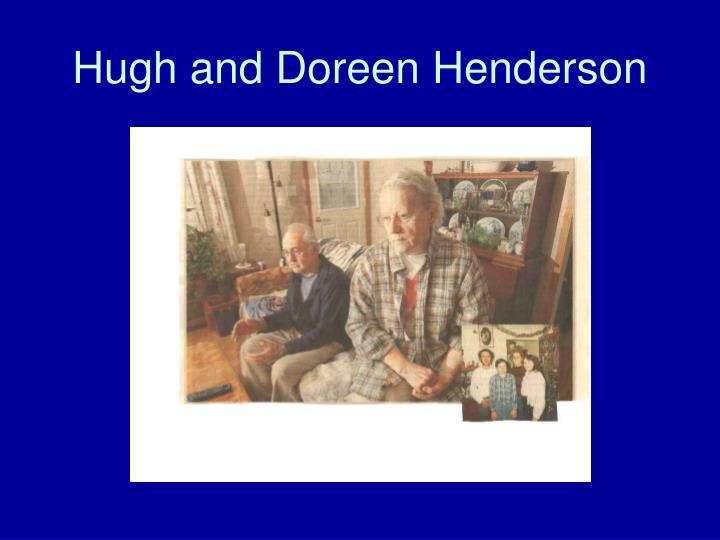 Hugh and Doreen Henderson