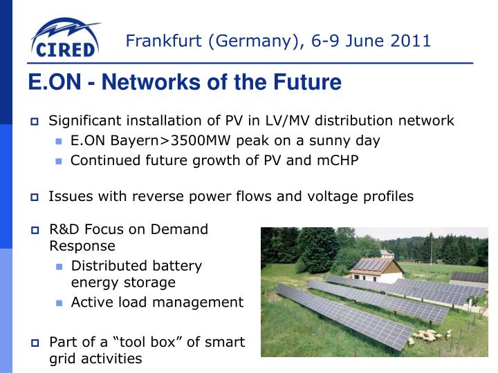 E.ON - Networks of the Future
