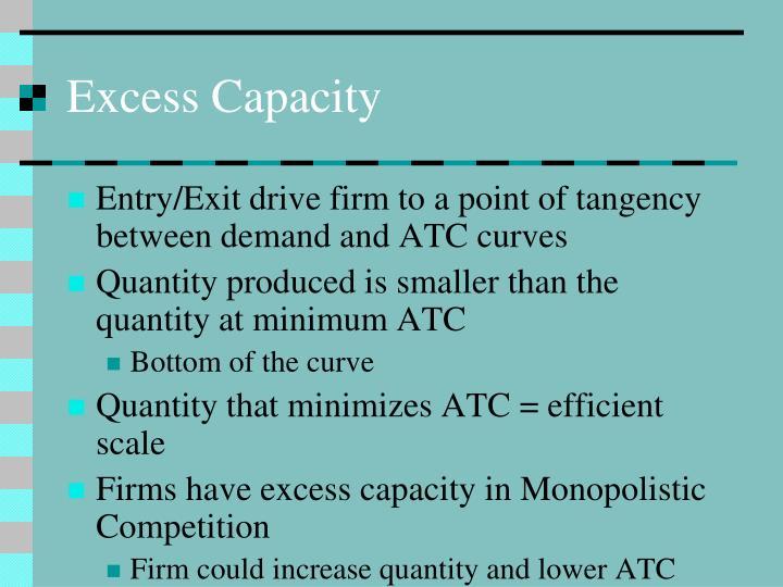 Excess Capacity