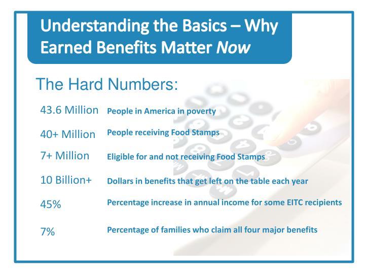 Understanding the Basics – Why Earned Benefits Matter