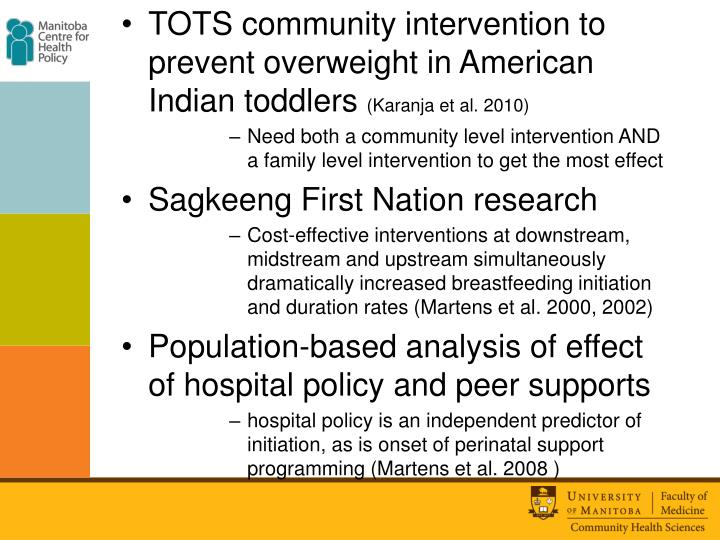 TOTS community intervention to prevent overweight in American Indian toddlers