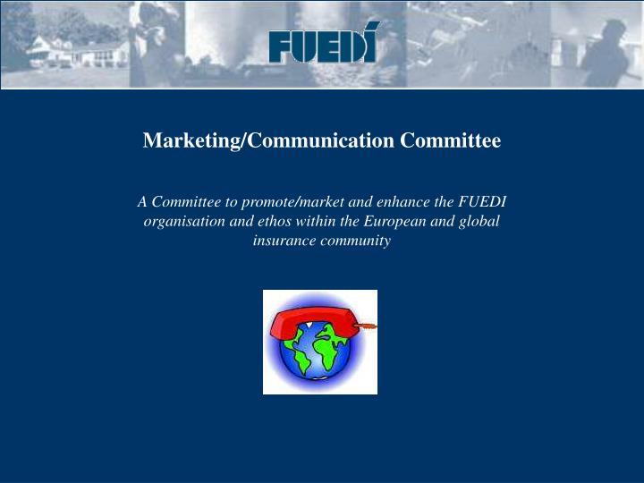 Marketing/Communication Committee