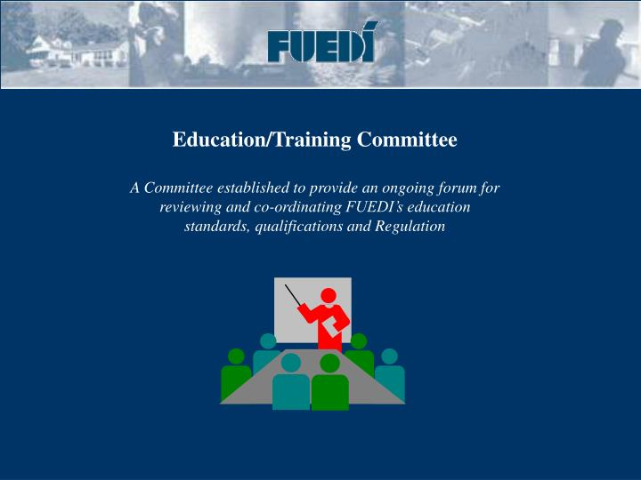 Education/Training Committee
