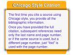chicago style citation