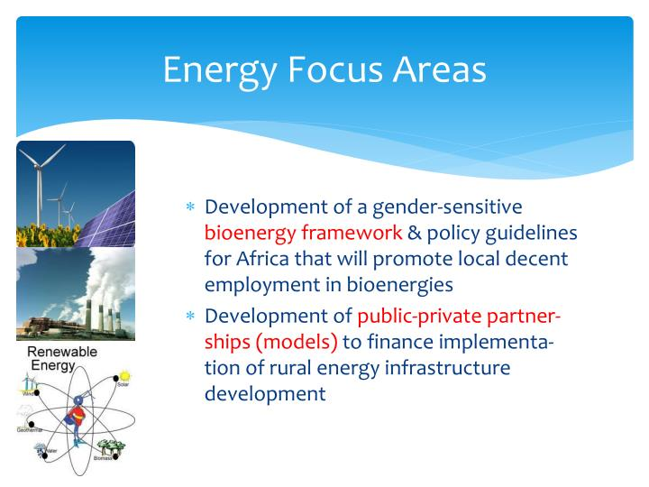 Energy Focus Areas