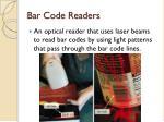 bar code readers