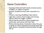 game controllers1