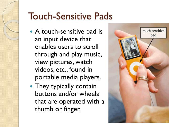 Touch-Sensitive Pads