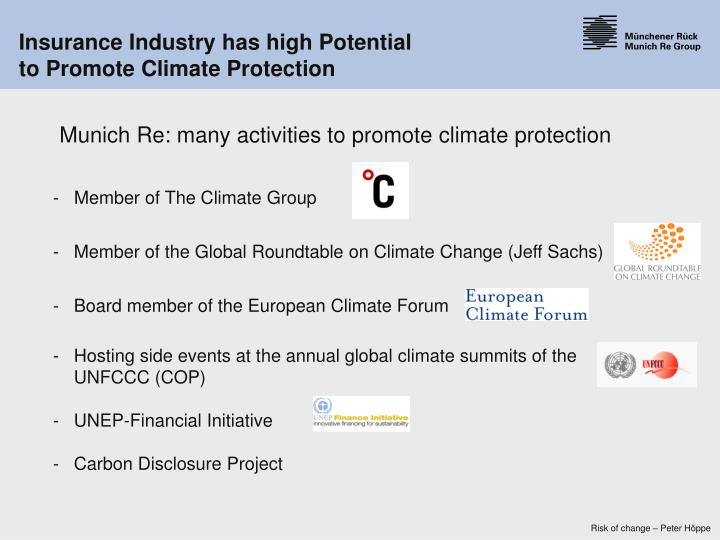 -   Member of The Climate Group