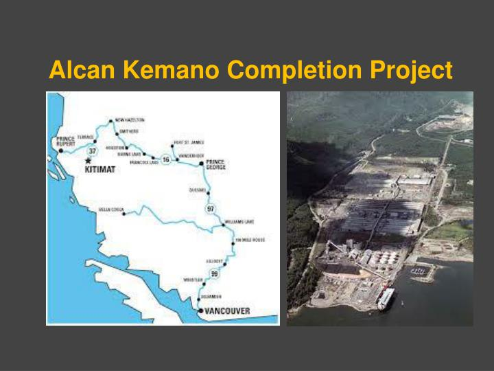Alcan Kemano Completion Project