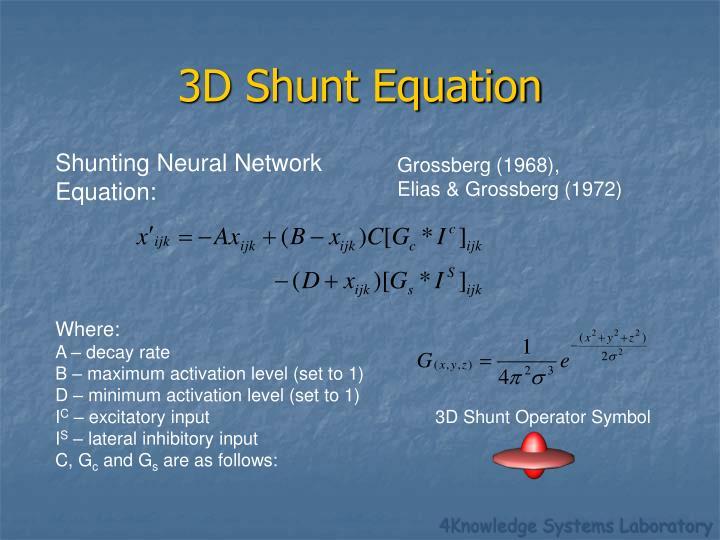 3D Shunt Equation