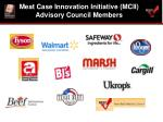 meat case innovation initiative mcii advisory council members