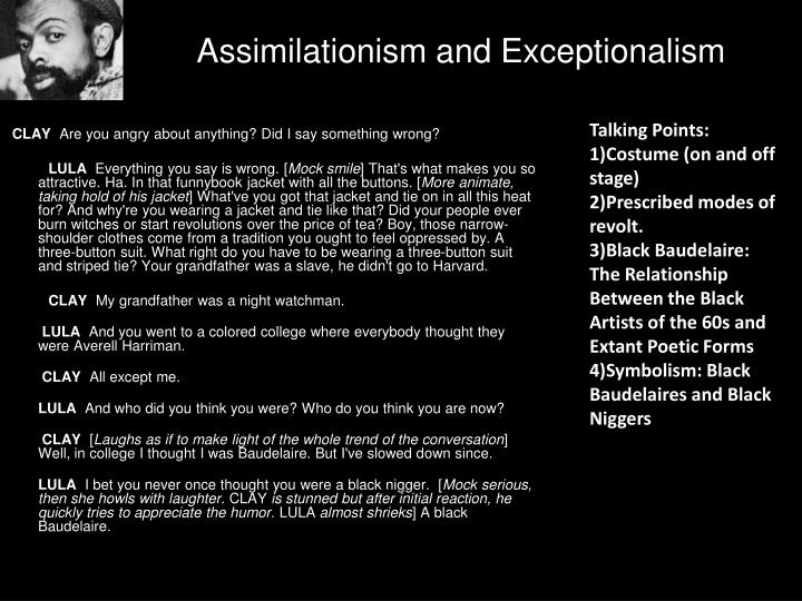 Assimilationism and Exceptionalism