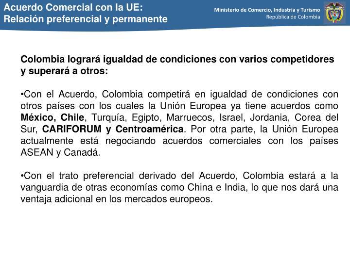 Acuerdo Comercial con la UE: