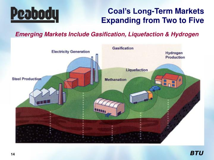 Coal's Long-Term Markets Expanding from Two to Five