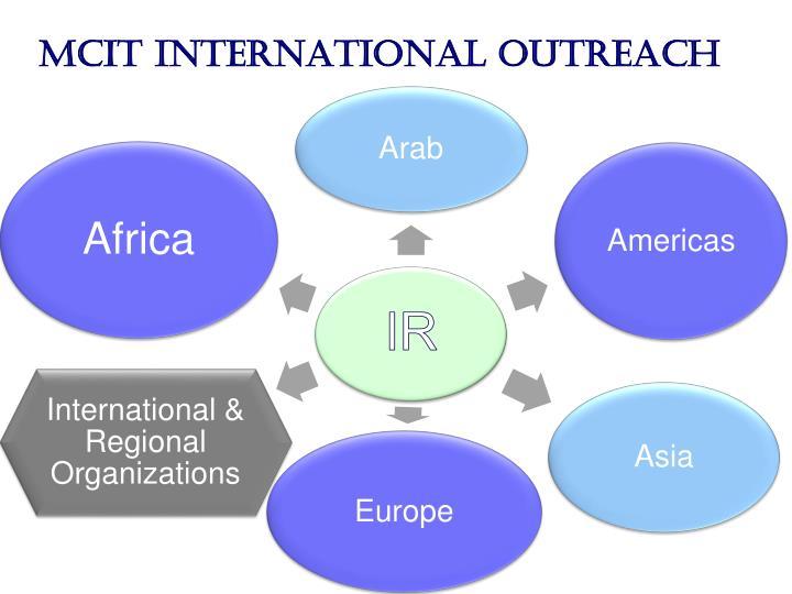 MCIT International Outreach