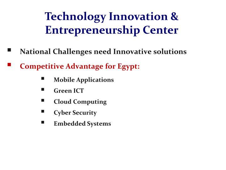 Technology Innovation & Entrepreneurship Center