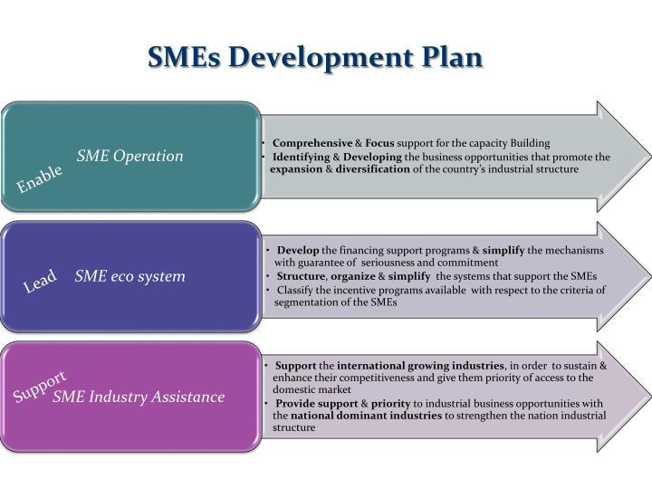SMEs Development Plan