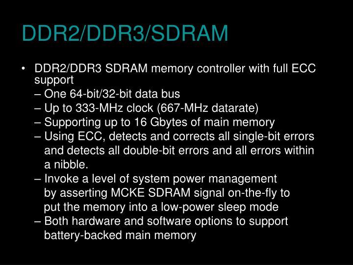 DDR2/DDR3/SDRAM