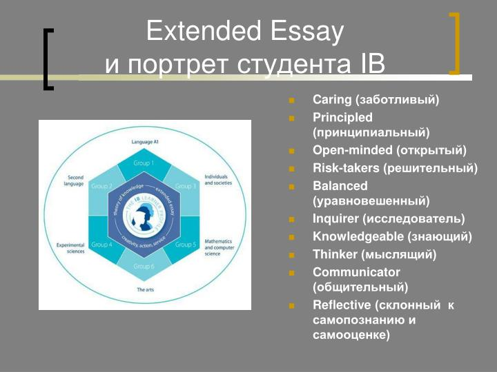 Extended Essay