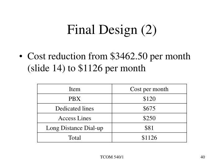 Final Design (2)