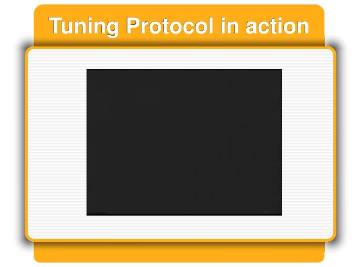 Tuning Protocol in action
