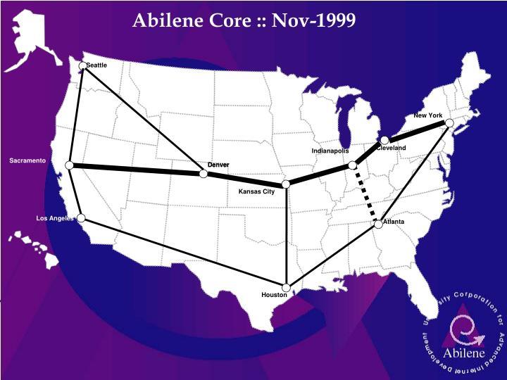 Abilene Core :: Nov-1999