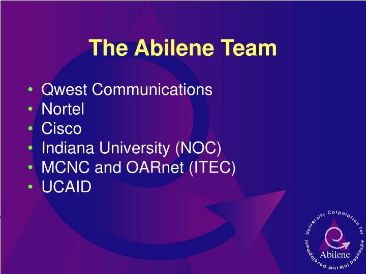 The Abilene Team