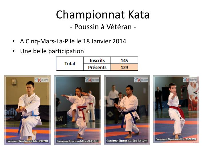 Championnat Kata