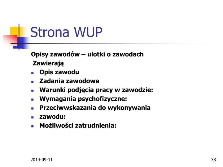 Strona WUP