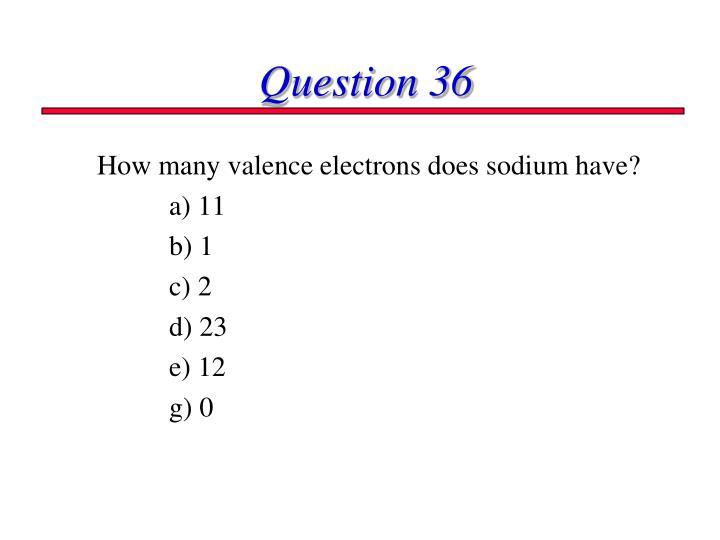 Question 36
