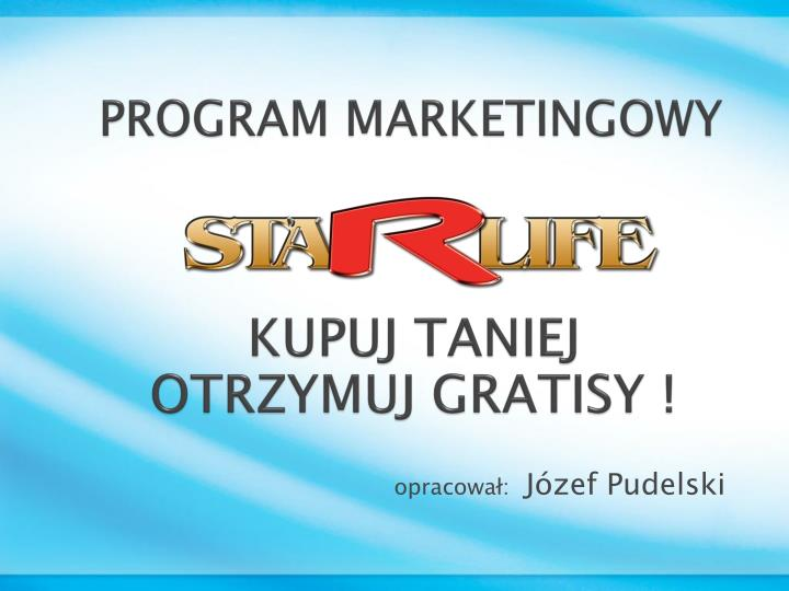 Program marketingowy